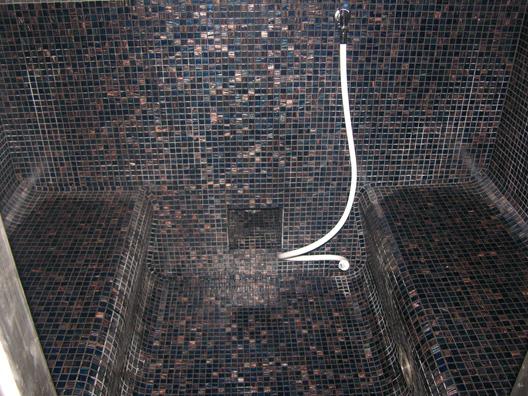 Inloopdouche Met Stoomcabine : Fh denaeyer wellness center tegels mozaiek stoomcabines hammam