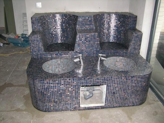 Fh Denaeyer Wellness Center Tegels Mozaiek Stoomcabines